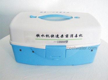Portable water ozonator