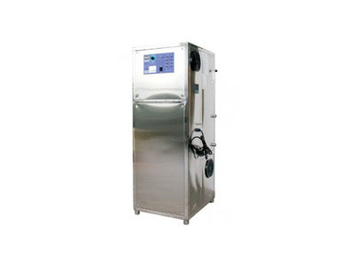 Ozone generators with built-in oxygen concentrator